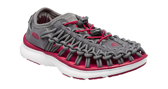 Keen Uneek O2 Sandals Youth Magnet/Tango Red